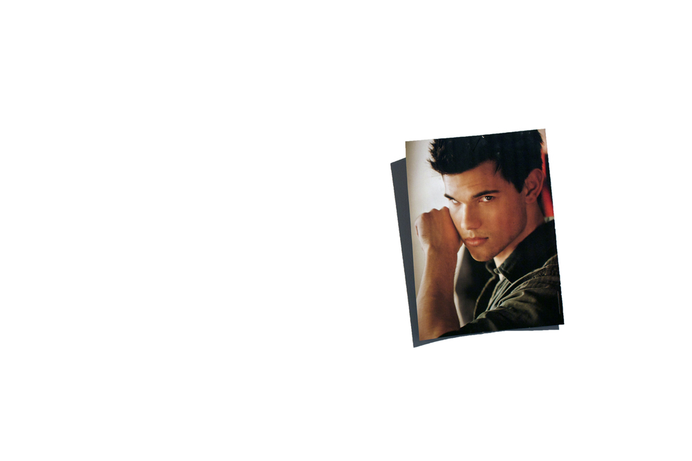 Marry Taylor Lautner   2011  People Magazine  feature photo, pins  8 x 11.5""