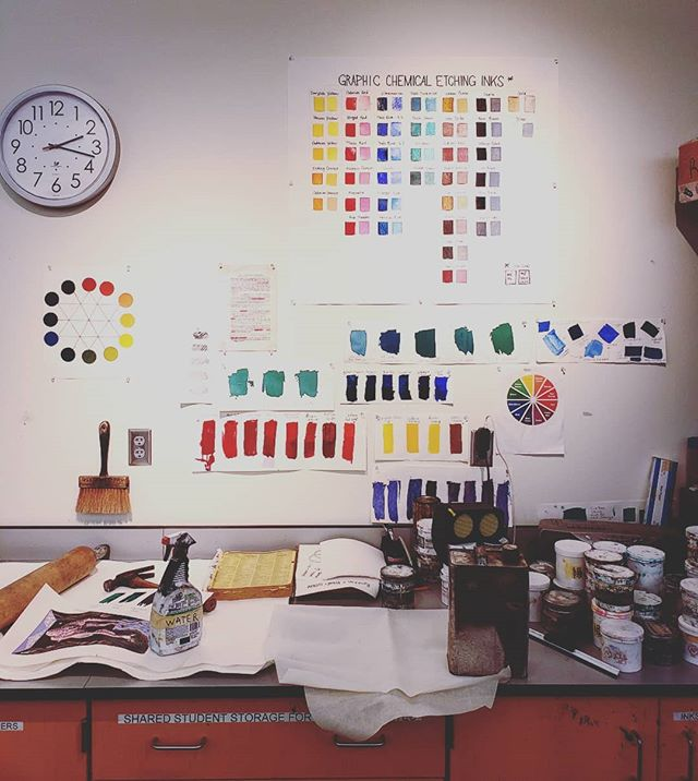 Organized color charts always soothe the soul.