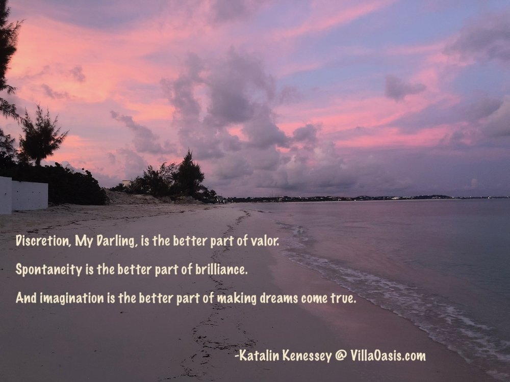 From Villa Oasis Owner, Ms. Katalin