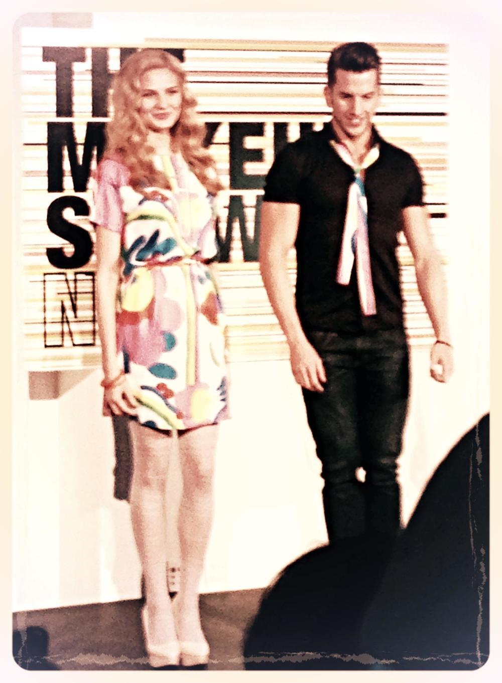Stila Model & Artist.