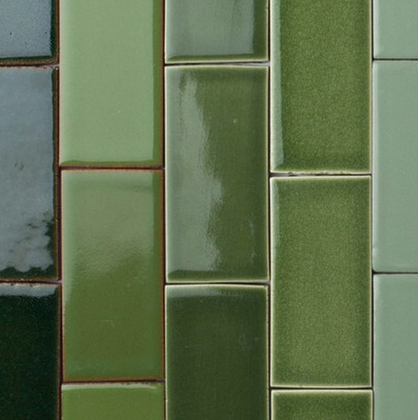Fireclay Glazed Brick (Instagram) (Fireclay Company Website)