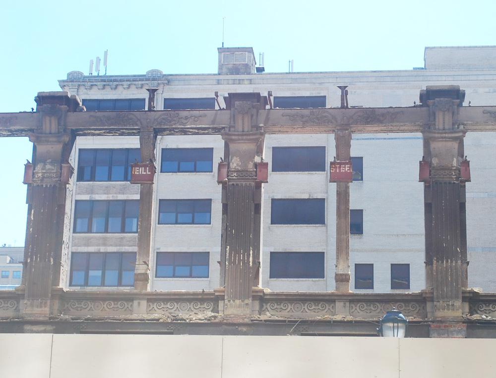 Column and frieze details (Photo: Shila Griffith)