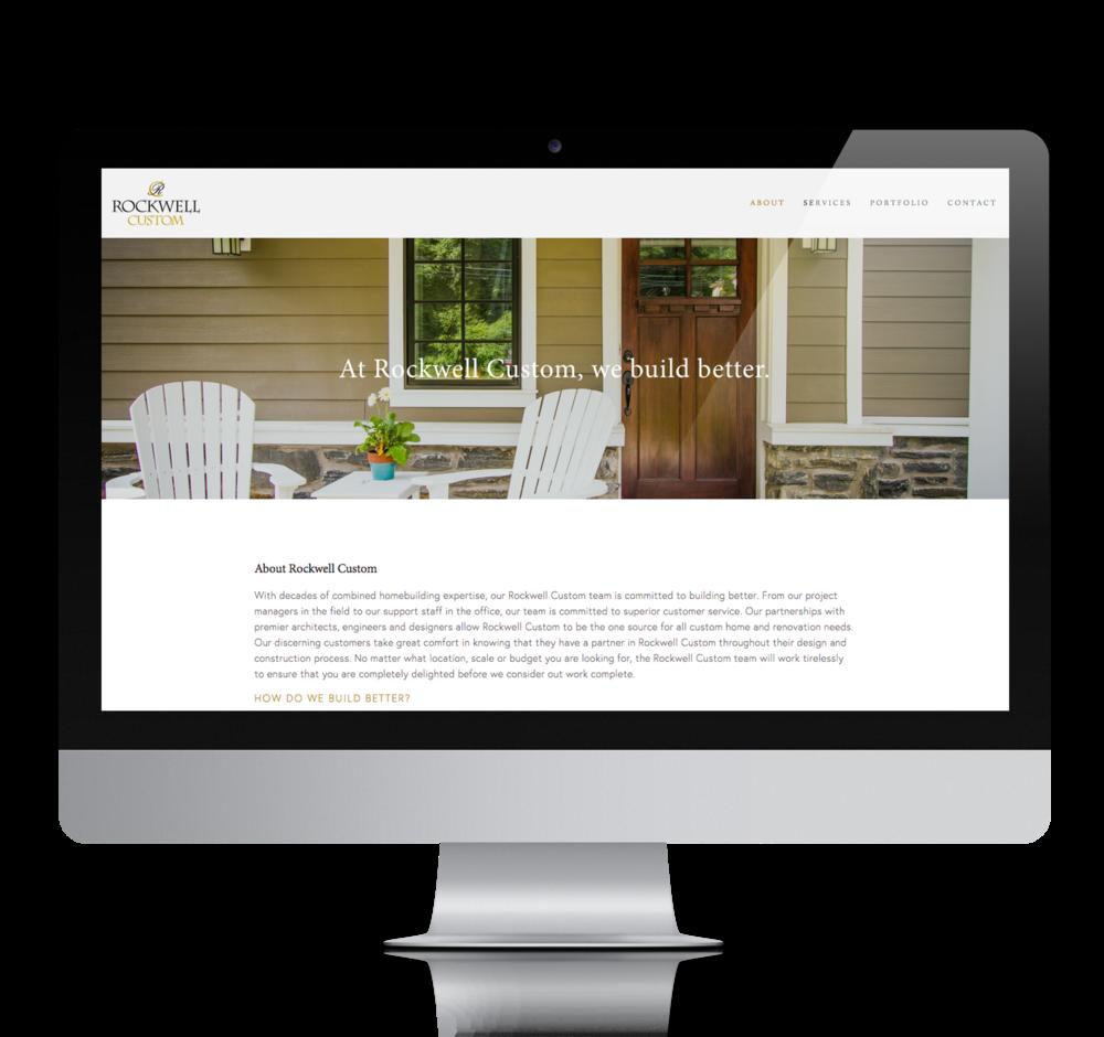 Rockwell Custom Website