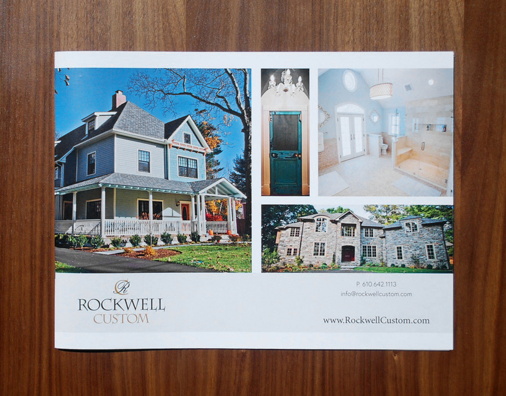 Rockwell Custom Portfolio Booklet