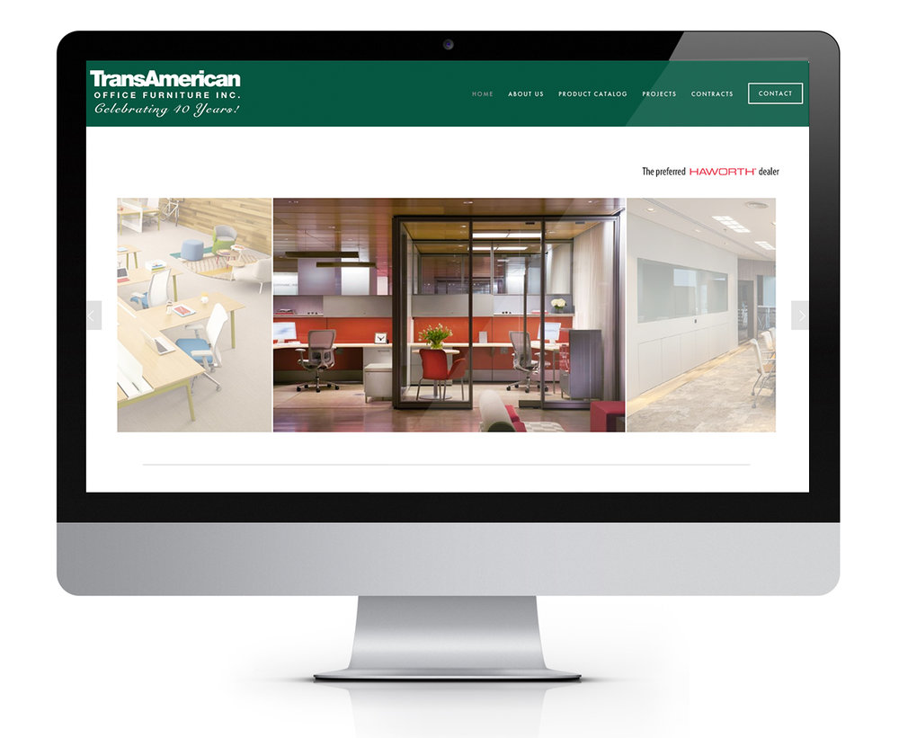 TransAmerican Office Furniture Website