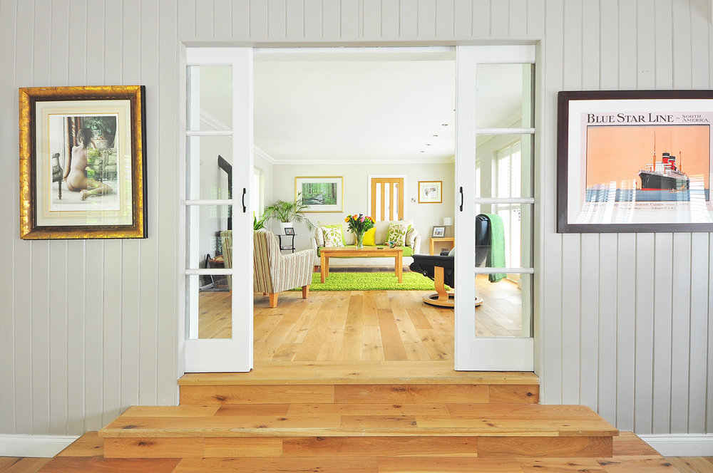 Double pocket door