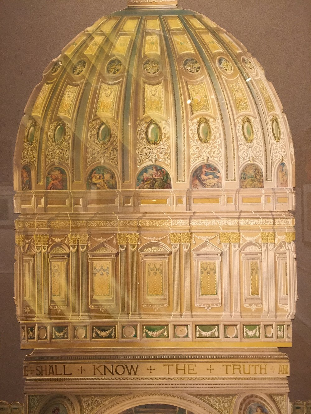 Interior Elevation, Joseph M. Husdon