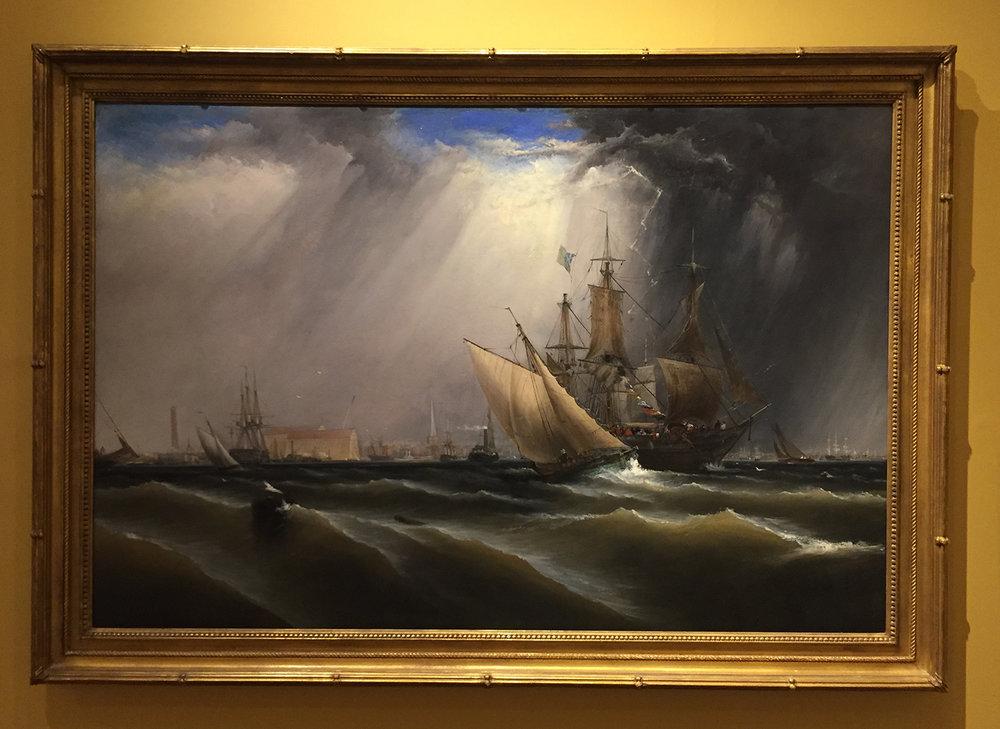 View of Philadelphia, by James Hamilton