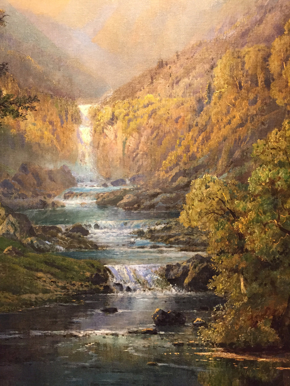 Morning in the Kaaterskill, by Edmund Darch Lewis