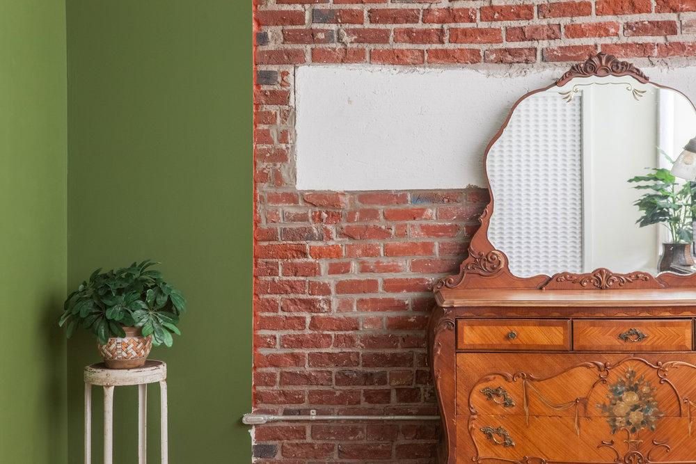 Memphis Street Loft - Master Antique Dresser