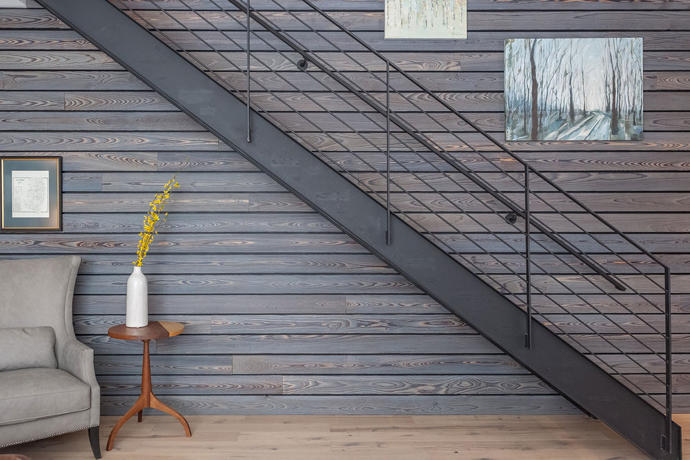 Stair Accent Wall