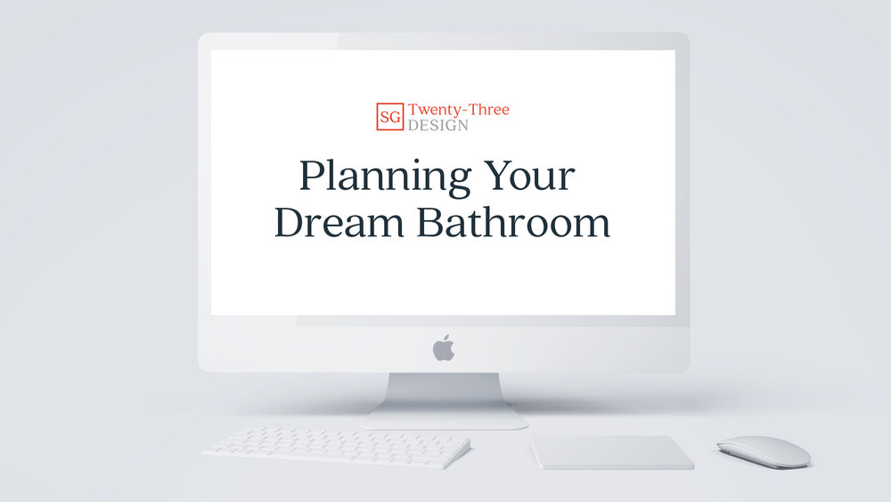 Dream Bathroom Email Course