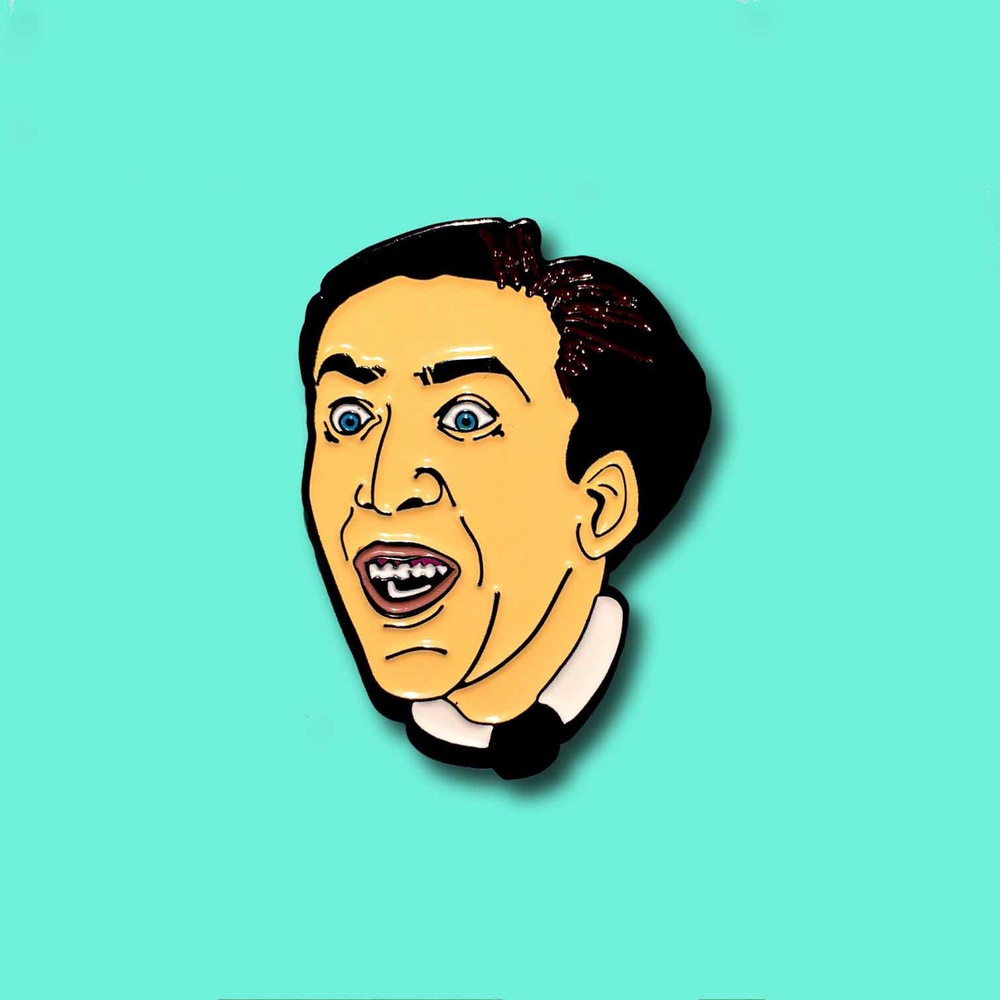 be subtle pins nicolas cage product shot
