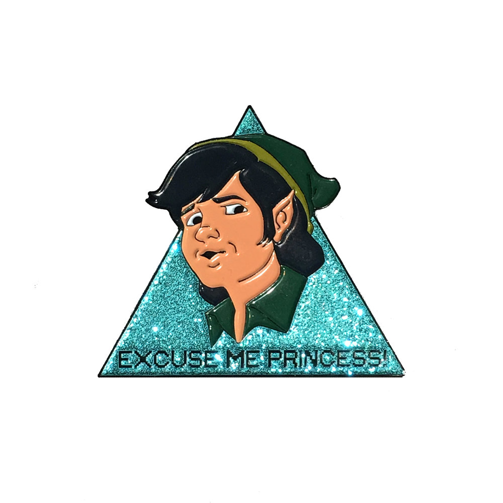 be subtle pins legend of zelda link product shot