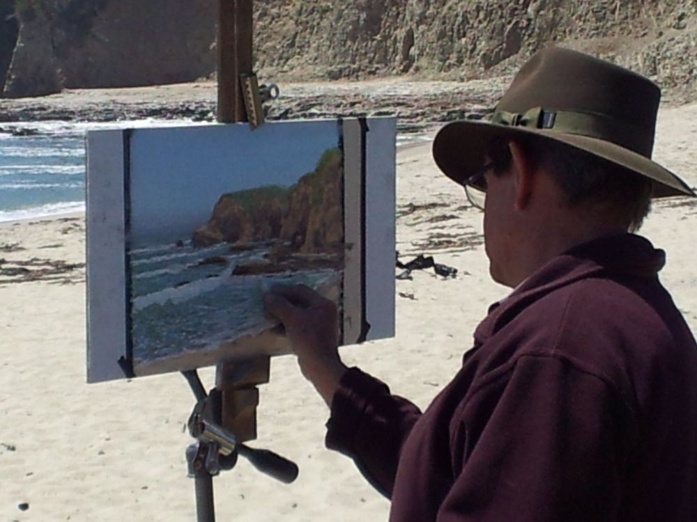 Painting Davenport beach.jpg