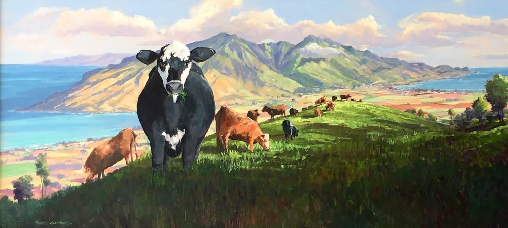 Cows On Ulupalakua Ranch