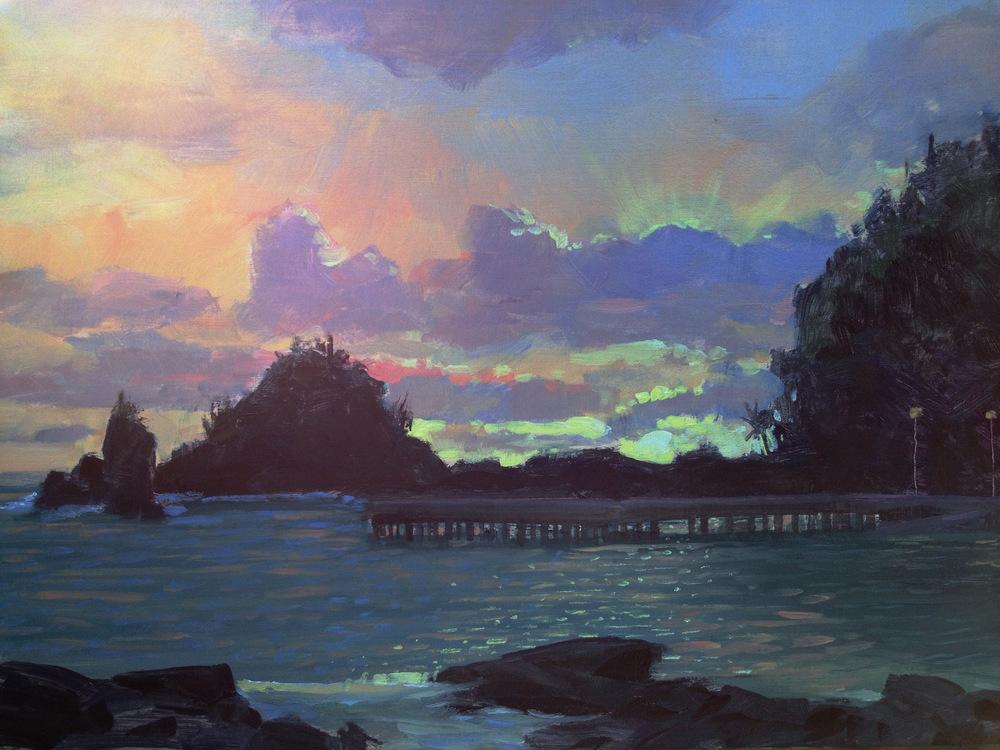 Hana Harbor Light Study