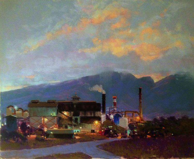 Night Shift at Puunene Mill