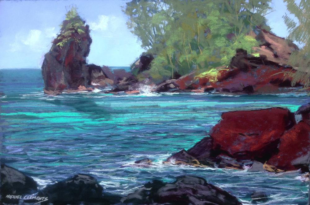 Red Rocks at Hana Harbor