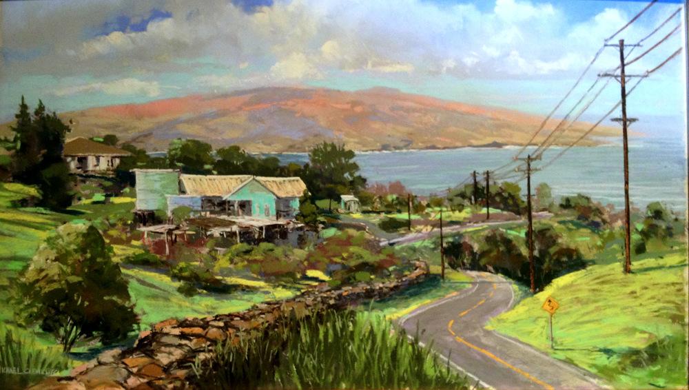 Road to Ulupalakua