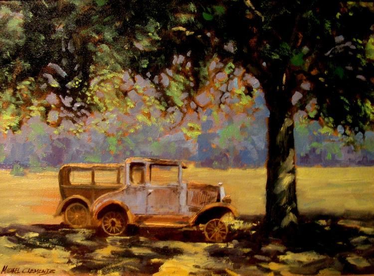 Old Cars in Waco, Texas