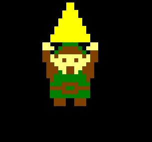 Me, age 9, securing a piece of the Triforce.