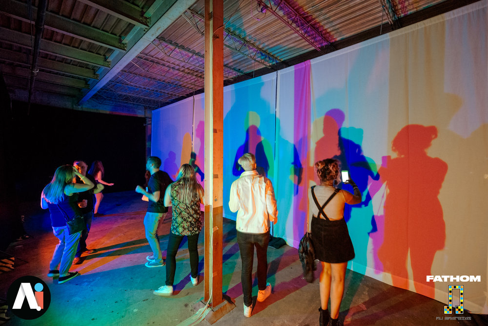 Tommy Bobo Light Art Installation 2018 Washington DC