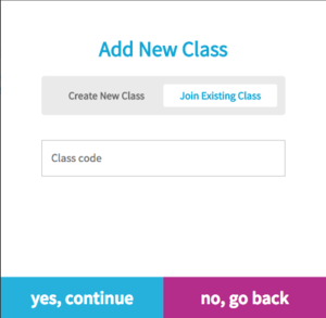 Join existing class