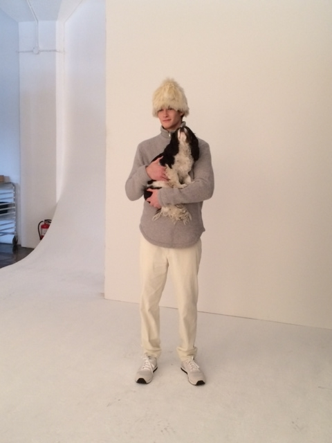 Steven Alan behind the scenes