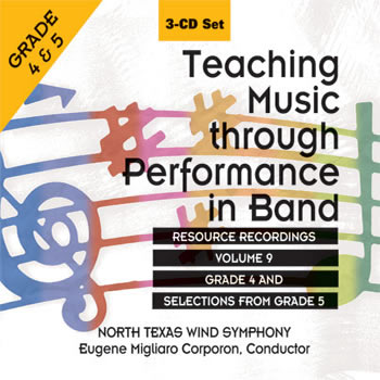 Teaching Music Through Performance in Band, Vol. 9