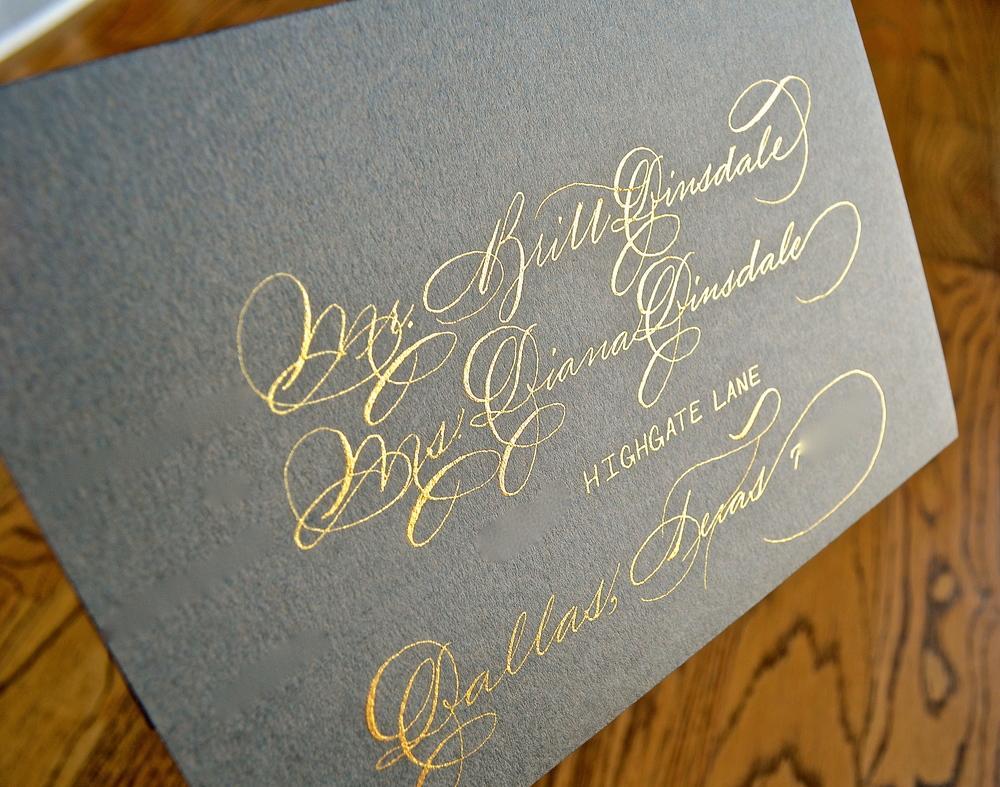 Wedding Calligraphy Houston Jpg