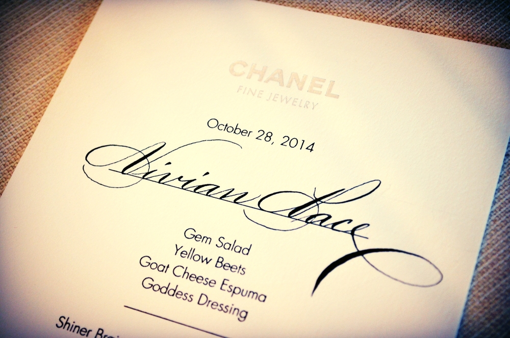 Houston Calligrapher Chanel.JPG
