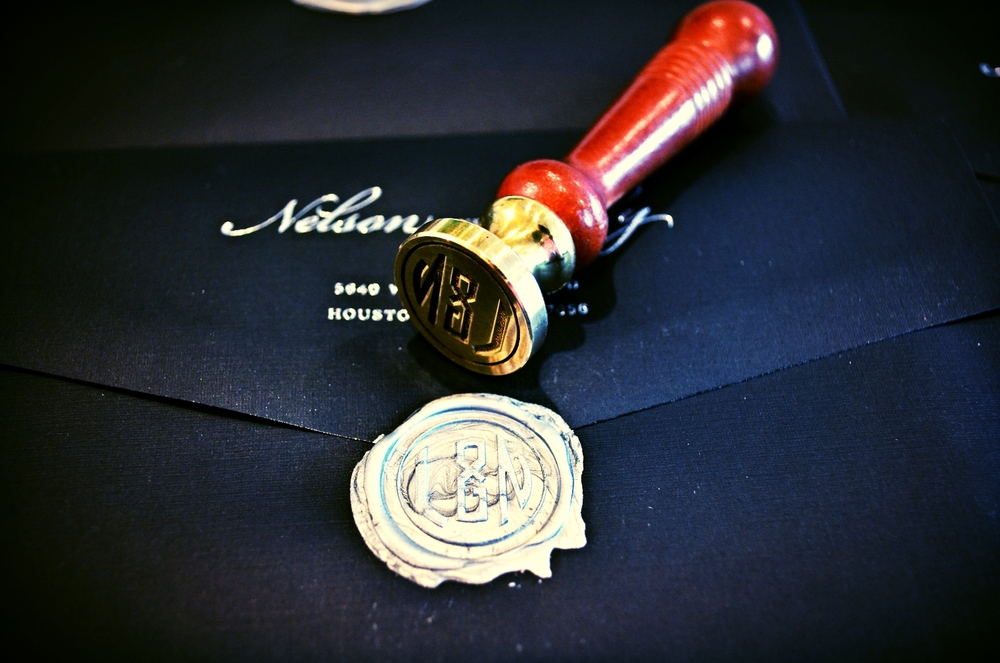 Houston Wax Seal - Calligrapher.JPG