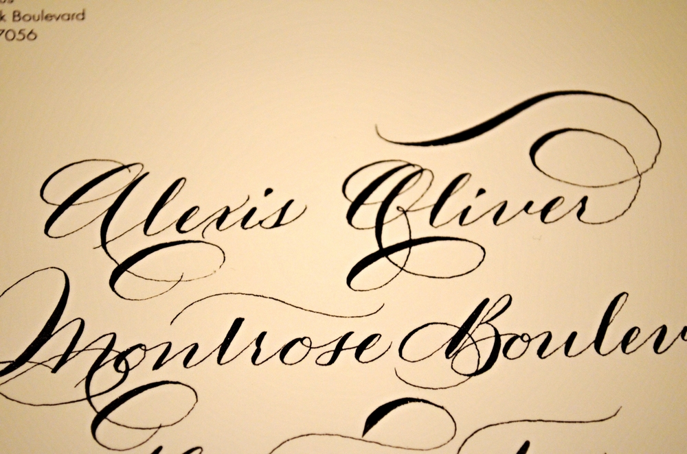 Houston Calligraphy Calligrapher - 2015 Chanel & Neiman Marcus Event 6.jpg