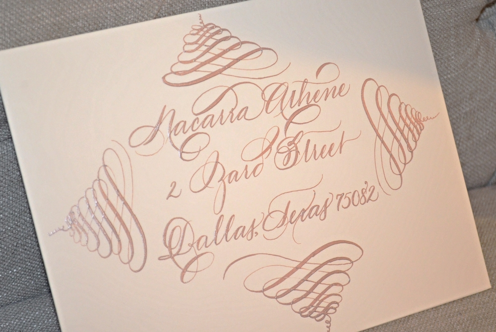 Houston CalligrapherWedding Flourish Calligraphy 7.jpg