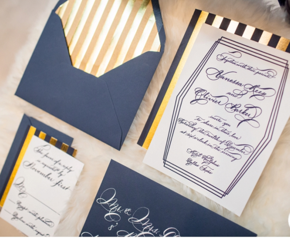 Stationery by Cotton Paperie Photography by Stacy anderson Photography