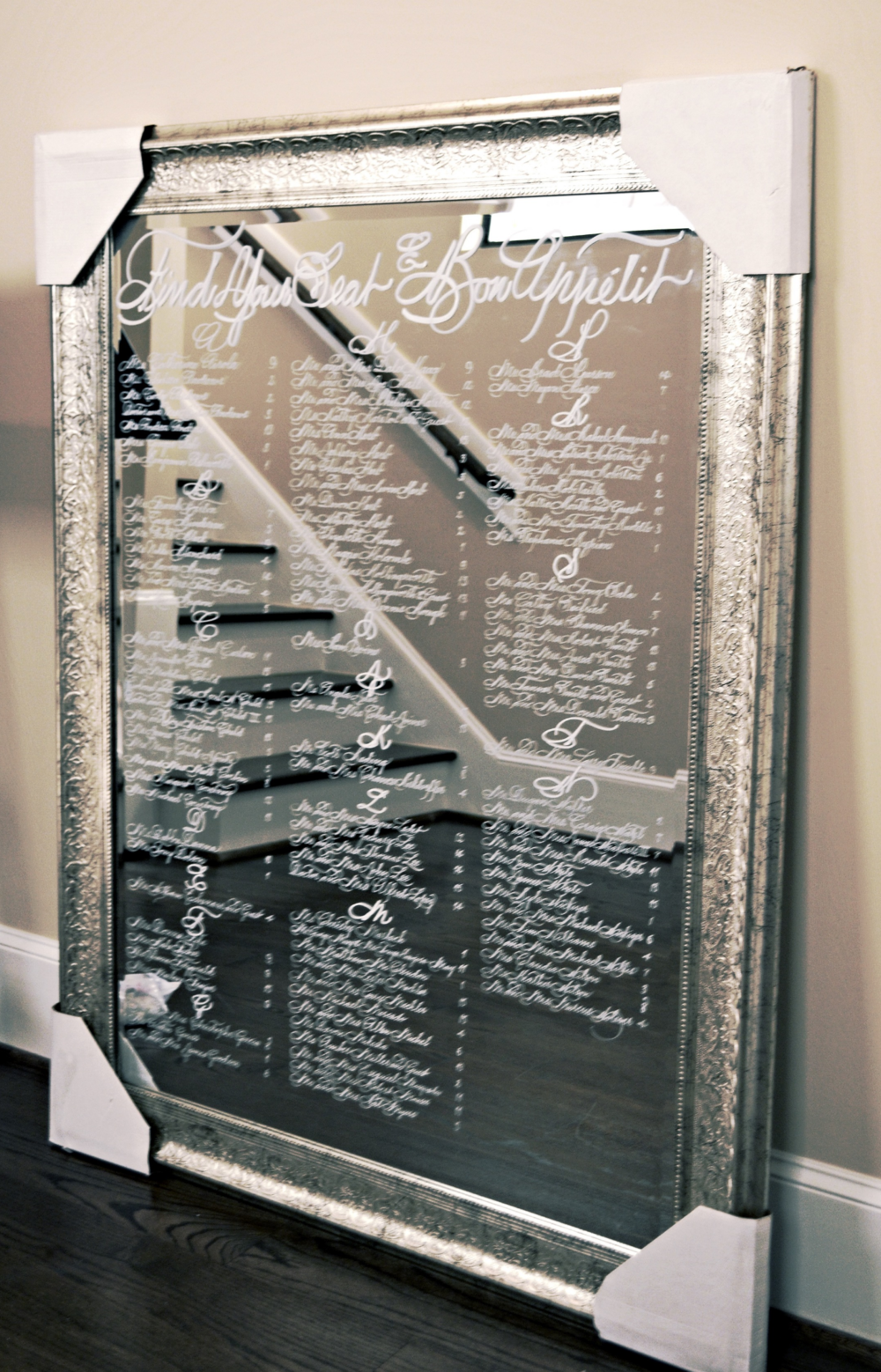 Bella Grafia Calligraphy featured in Houston Weddings Magazine