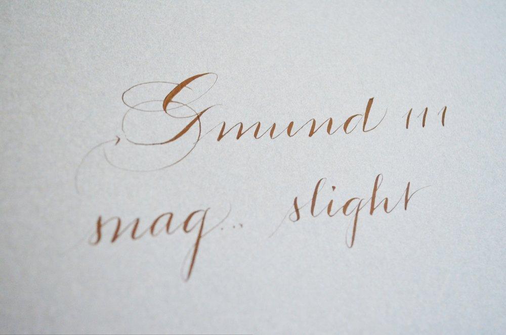 Lci Luxury Paper Review Houston Calligrapher Slinging