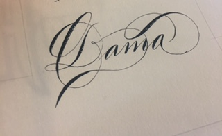 Canson deckled edge paper - This was my paper test...  Works will with Sumi ink even with an old semi-flex nib.