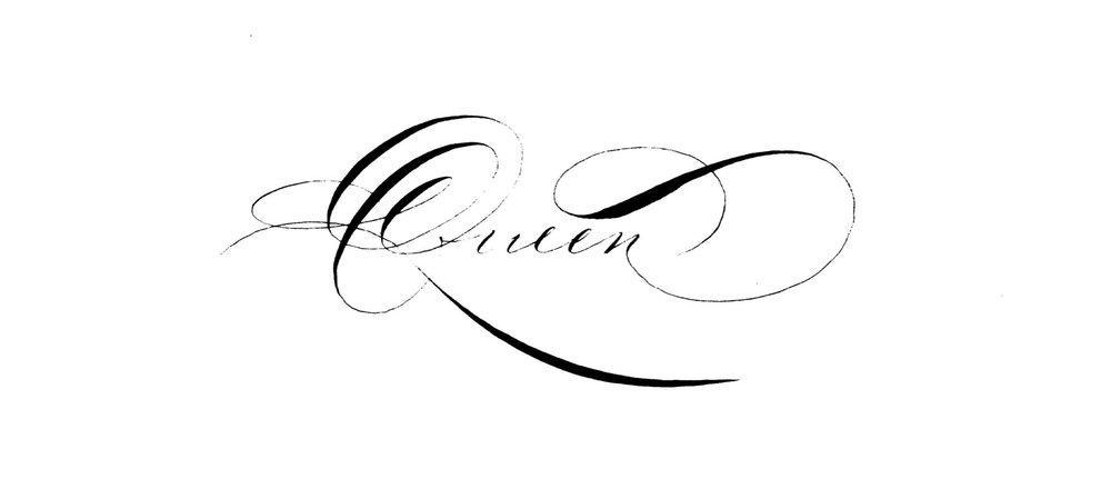 Houston Hand Lettering Queen Calligraphy.jpg