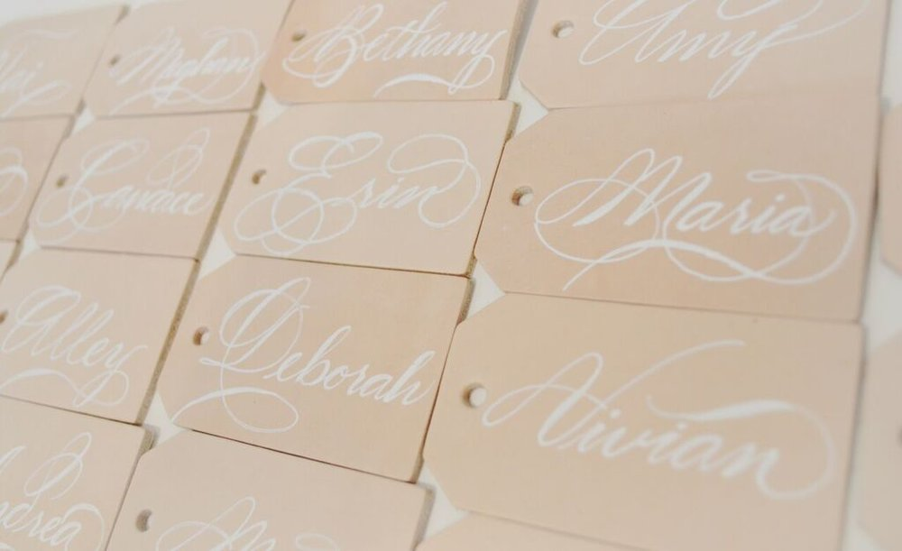 leather luggage tag houston calligraphy place card Nov 2017 4_preview.jpg