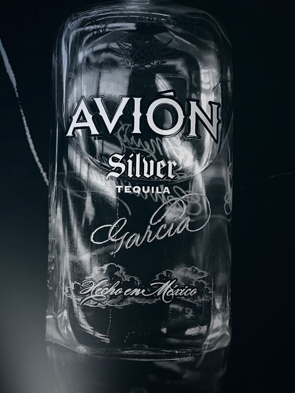 Avion Tequila Engraving spirit wine bottle Houston Engraver Calligraphy_preview.jpg