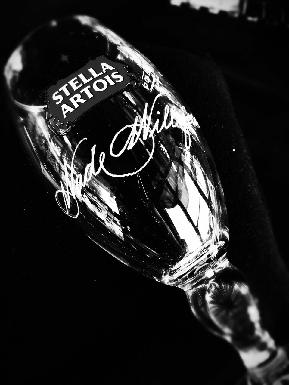 houston engraver engraving stella artois beer wine chalice glass.jpg