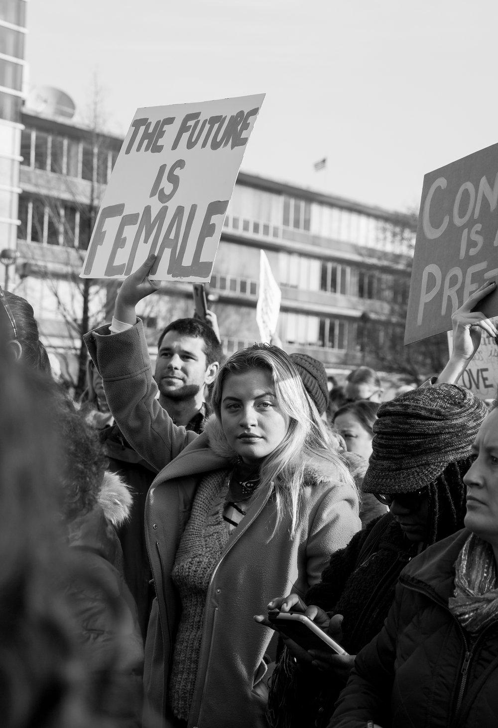 Women's March 2017 Detroit MI