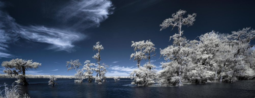 Lake Martin Infrared Panoramic Photo