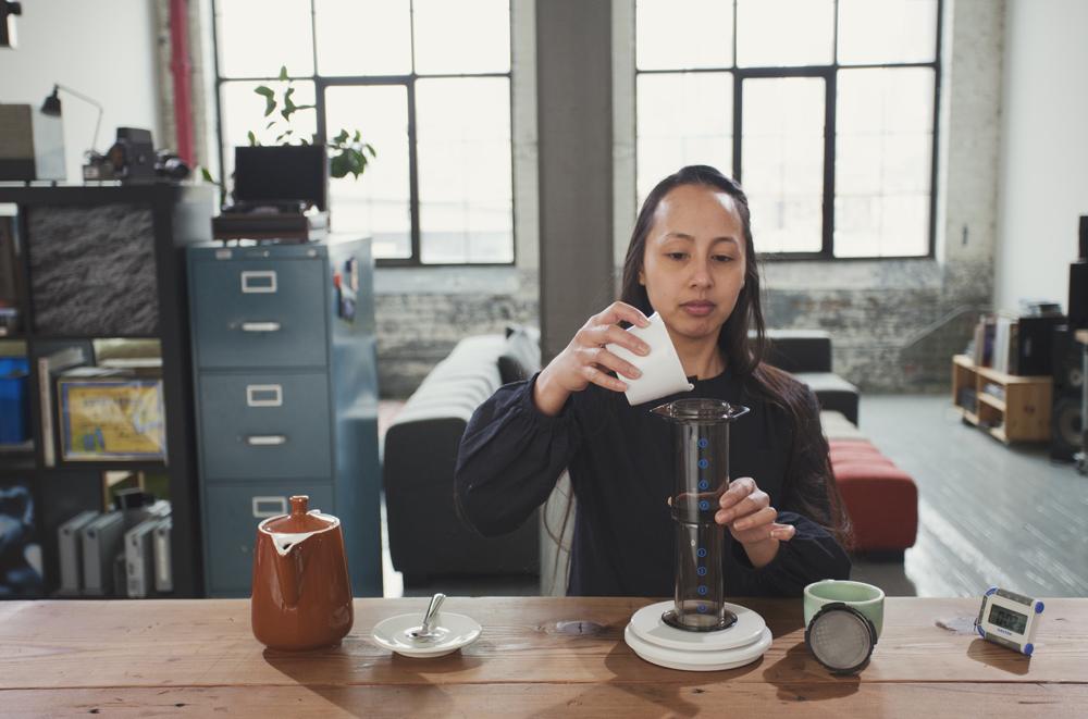 Step 4: Add Coffee