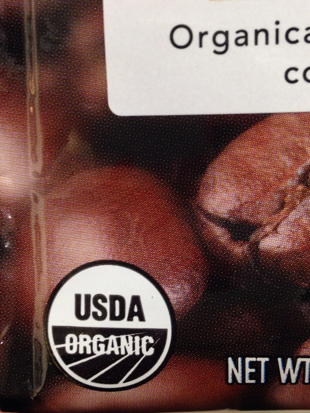 Look for this seal if you want USDA-certified organic coffee.