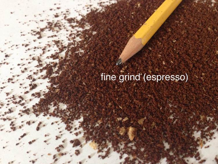 fine coffee grind for espresso