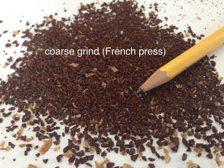 coarse coffee grind for french press