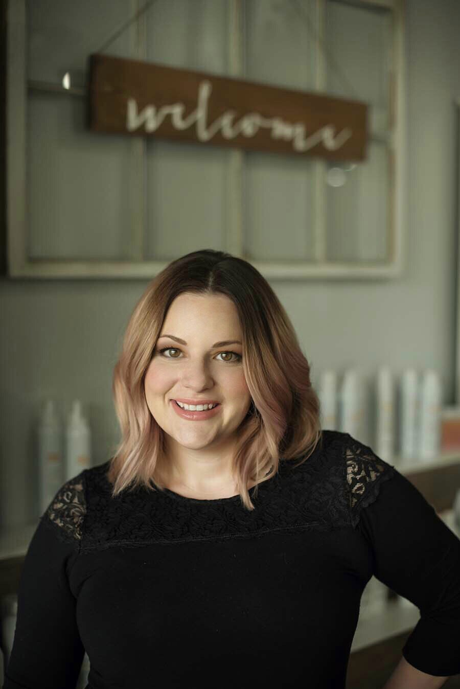 Cynthia Sally   Owner and Lead Esthetician opened Blend in Lisle in 2012 after operating a freelance wedding beauty business for 10 years.  She expanded her business and now solely focuses on the salon, her team and esthetics.